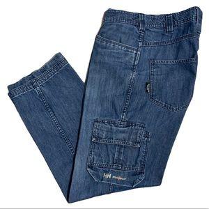 Helly Hansen Distressed Work Wear Denim Pants